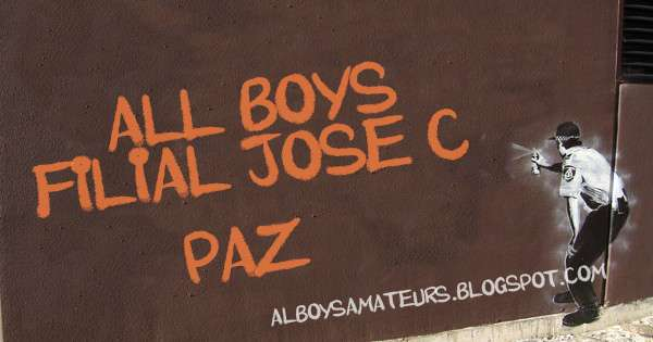 All Boys Un Sentimiento All Boys Filial Jose C Paz Ya Es