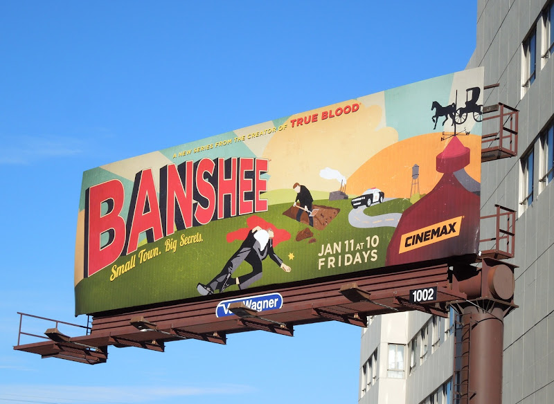 Banshee series premiere billboard