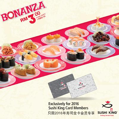 Sushi King Bonanza