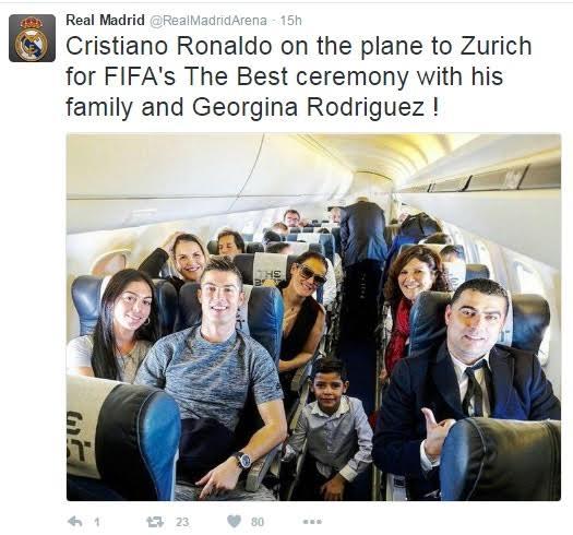 Cristiano Ronaldo And Girlfriend Georgina Rodriguez Make