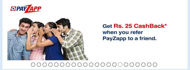 PayZapp Refer & Earn – Get Flat ₹25 Cashback – Earn Money Online
