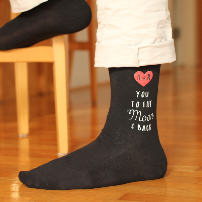 759c4d5d7 The Happy Sole  Valentine s Day Gift Giving - Custom Printed Socks