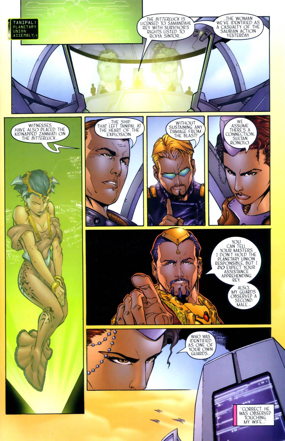 Read online Sigil (2000) comic -  Issue #3 - 8