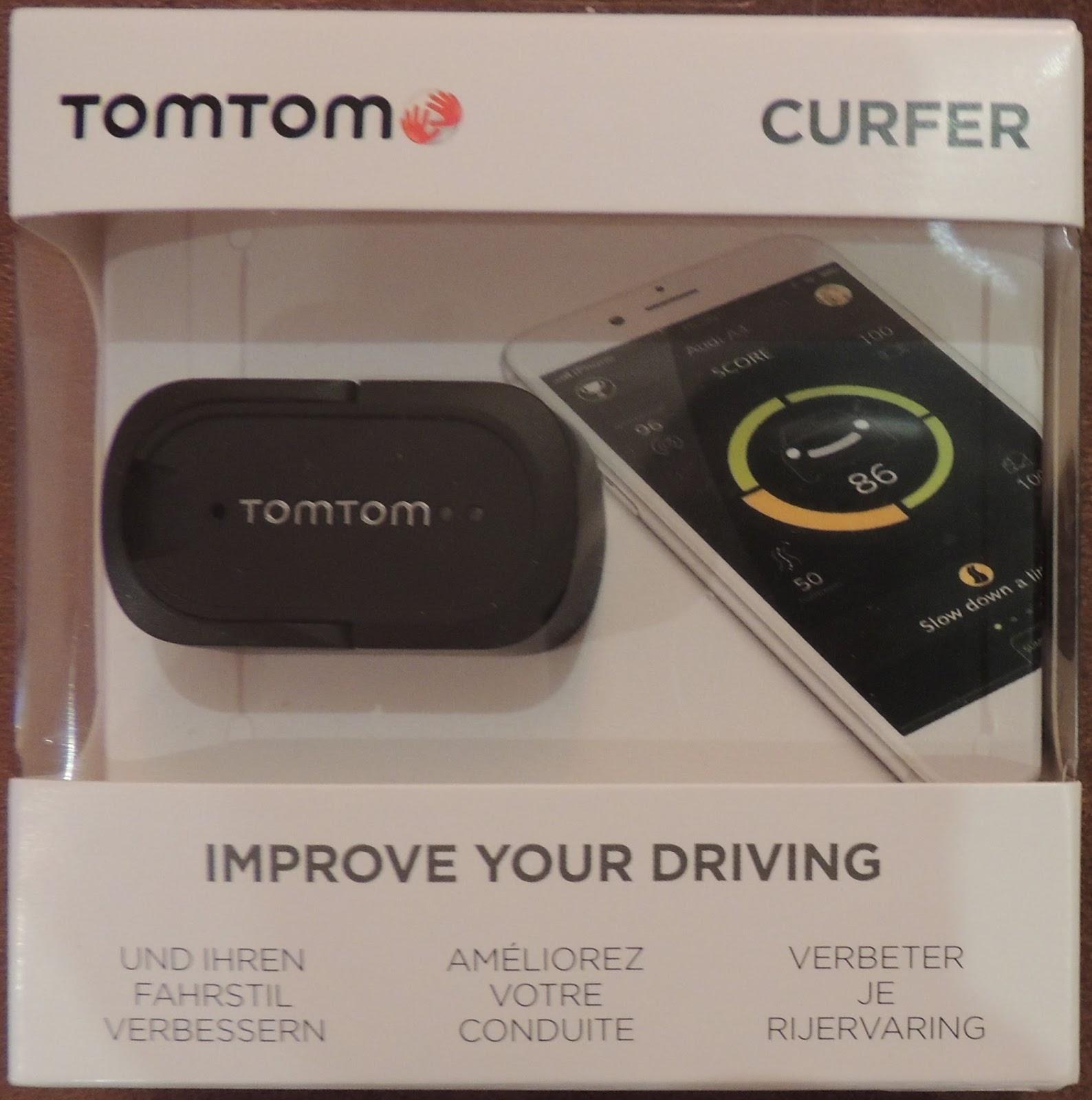 Produkttest Familie: TomTom Curfer (Dashboard zur ...