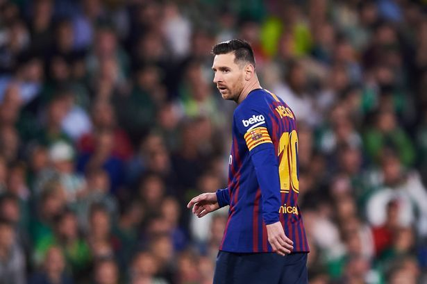 Messi Masih Belum Kembali Gabung Barcelona Karena Cedera