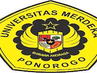 PENDAFTARAN MAHASISWA BARU (UNMERPONOROGO) 2020-2021