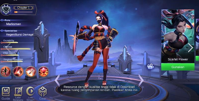Inilah Top Guide Item Hanabi Mobile Legends Marksman Terkuat