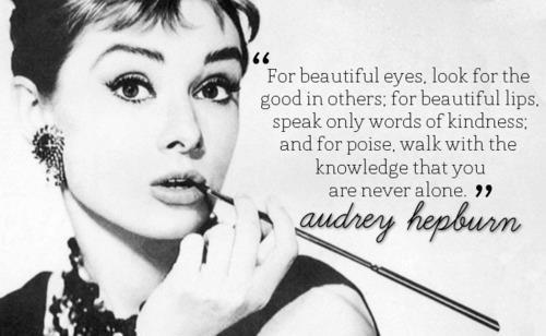 1001 Fashion Trends: Audrey Hepburn Quotes