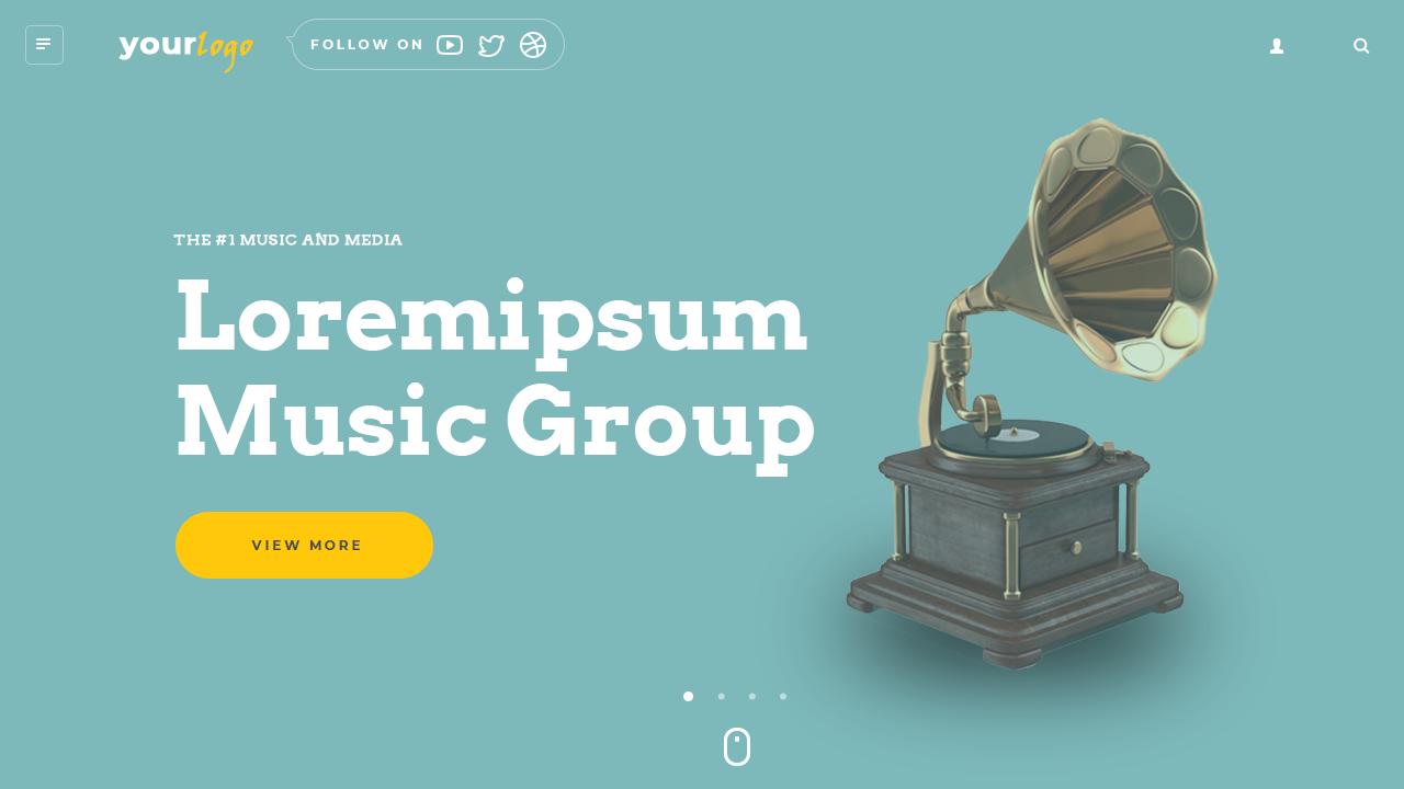 Website Slider Templates Design