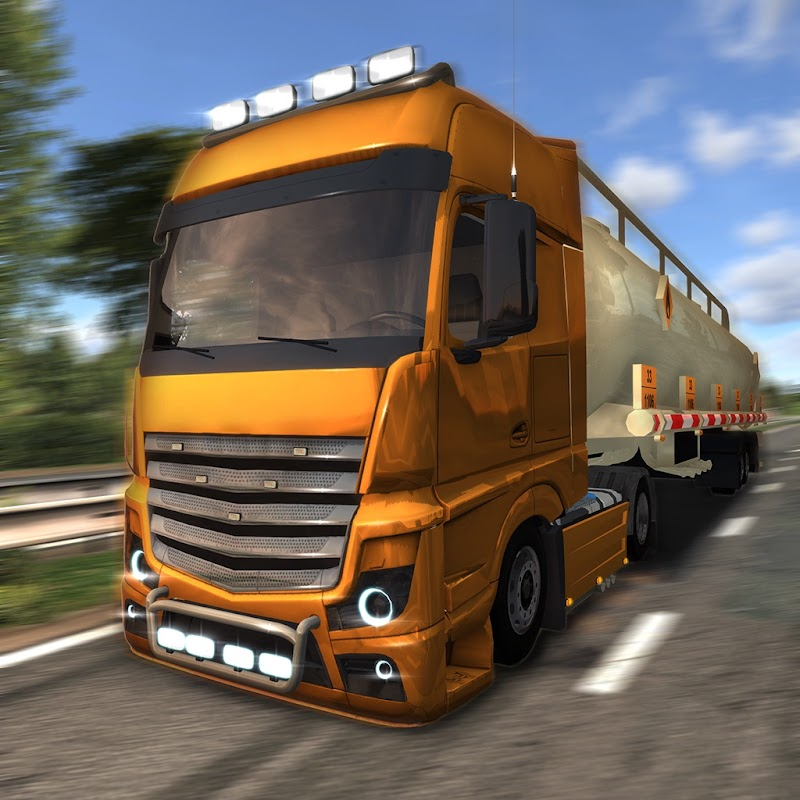 Euro Truck Driver v3.1 Apk Mod [Dinheiro Infinito]