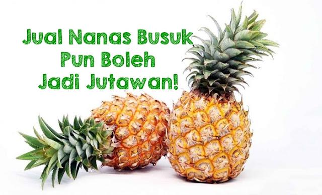 Image result for Kisah Penjual Nanas Yang Bersih Hatinya