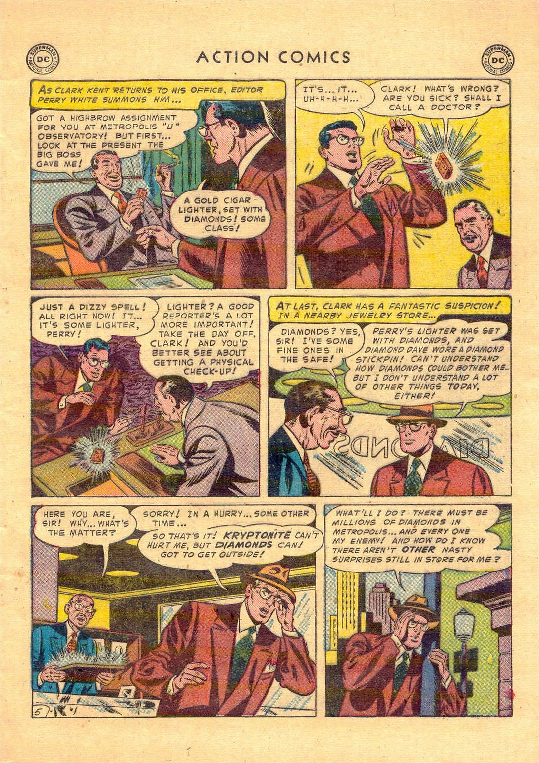Read online Action Comics (1938) comic -  Issue #181 - 6