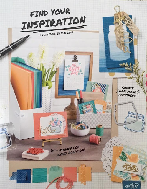 Stampin'Up! Annual Catalogue 2016/2017