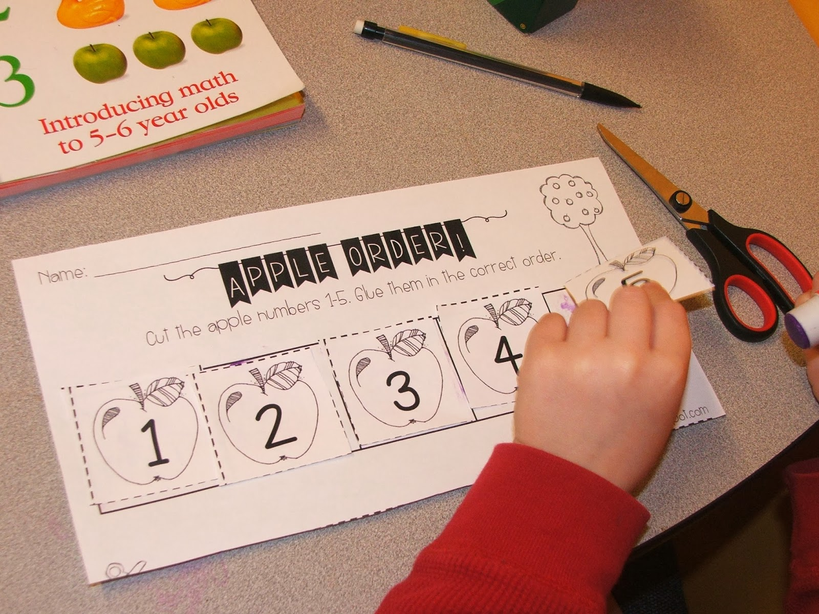 Highland Heritage Homeschool Kindergarten Apple Mania Part 1