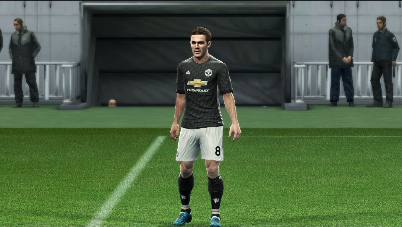 PES 2013 Manchester United GDB 2017-18 Update V1.1 by Vulcanzero