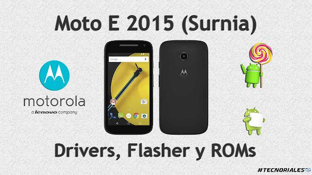 stock Rom moto e 2015
