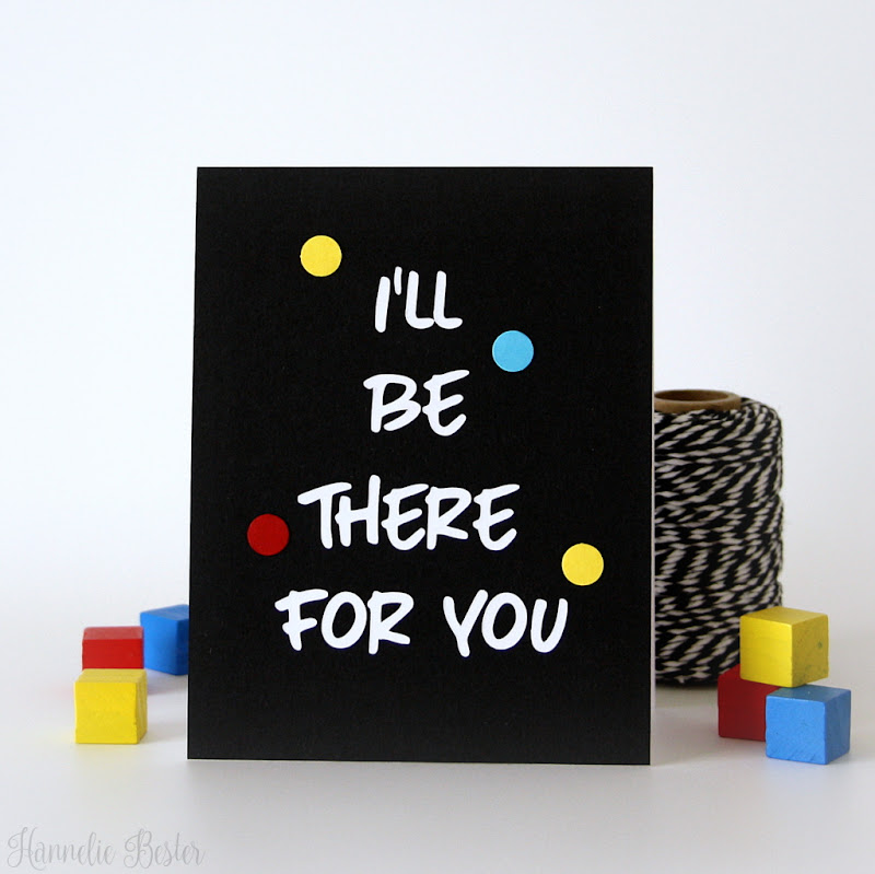 Friendship card inspired by the TV Series FRIENDS