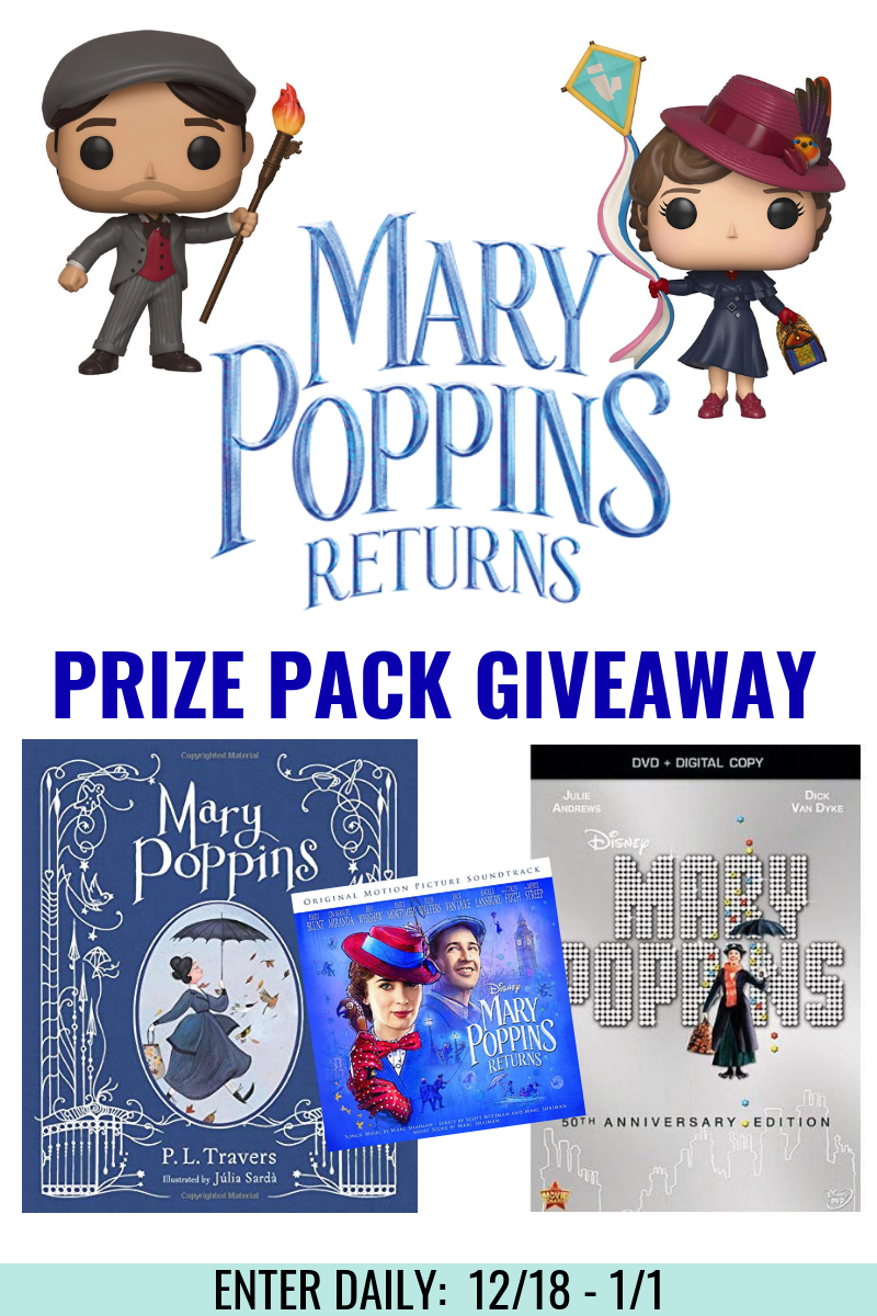 Mary Poppins Returns Giveway