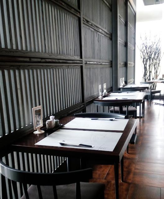 Kelainan masakan Jepun di Minori Japanese Restaurant.