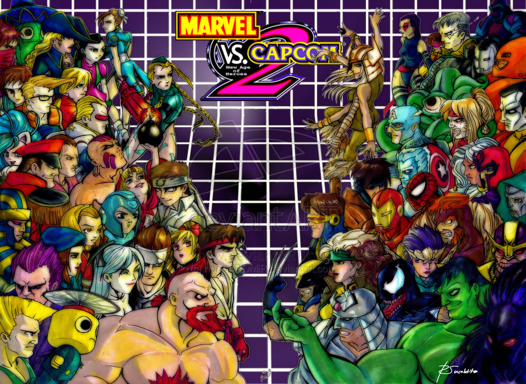 Marvel vs. Capcom 2 (PS2) 2002 LINK CONSERTADO