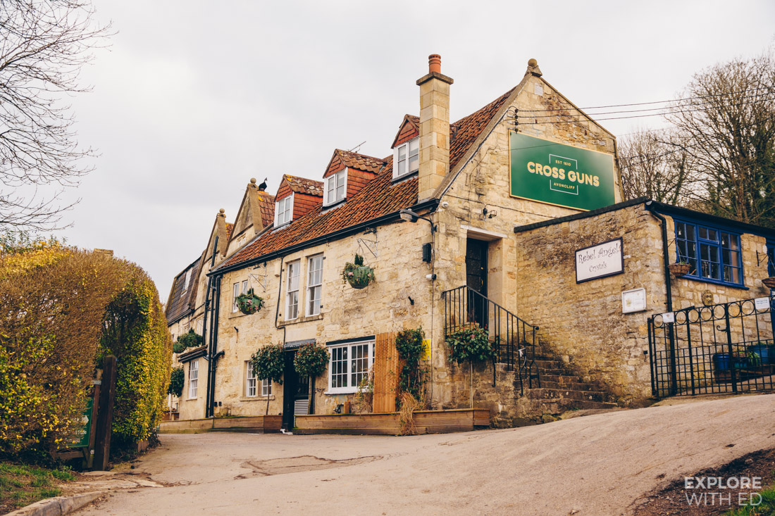 Cross Guns pub in Avoncliff