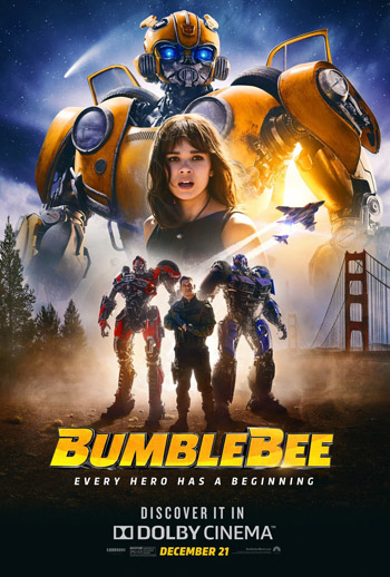 Bumblebee 2018 Dual Audio Clean Hindi HDTS 480p,720p 300MB,900MB