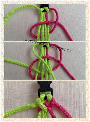 steps by steps paracord bracelets making tutorial