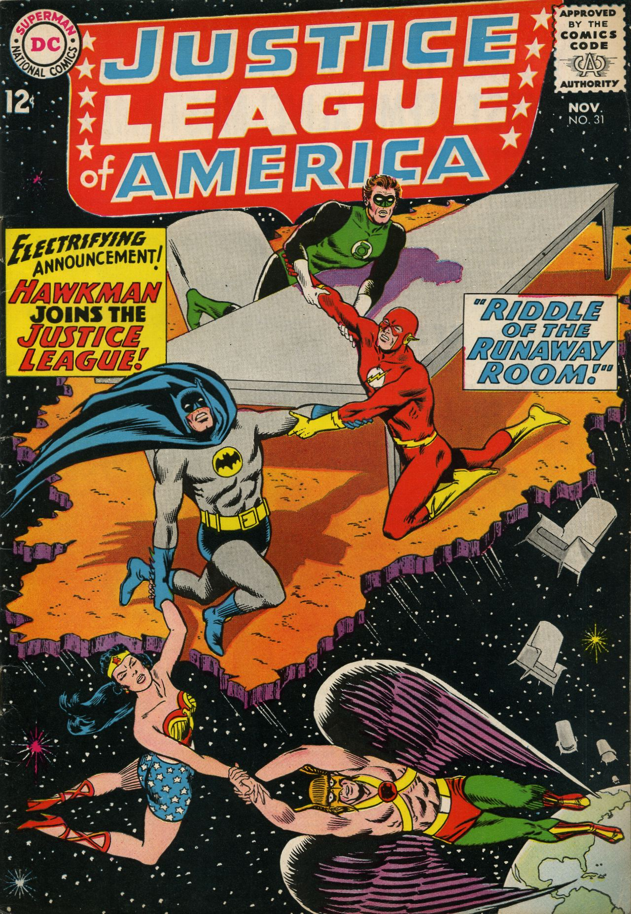 Justice League of America (1960) 31 Page 1