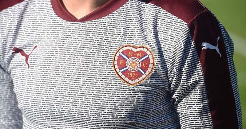 new concept bd280 a398a Hearts Release Stunning Foundation Tribute Jersey - cheap ...