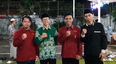 Foto bersama IMM STT Muhammadiyah Kebumen, PC IMM Kebumen dengan Pimpinan PDM Kebumen
