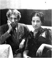 Bruno Barilli con la figlia Milena