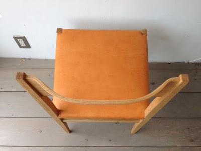 宮崎椅子 menuサイドチェア ナラ オイルレザー 本革