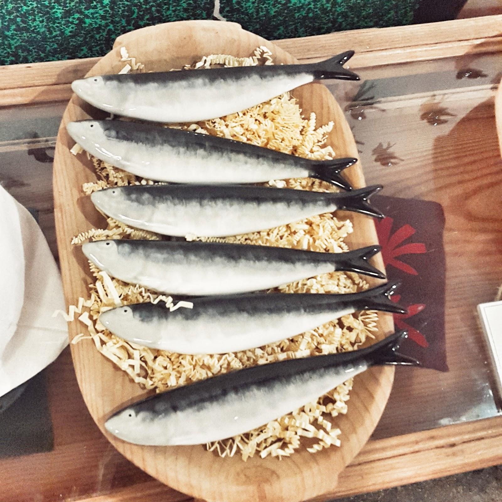 concept store A Vida Portuguesa lisbonne, swallow bird, decoration, sardines