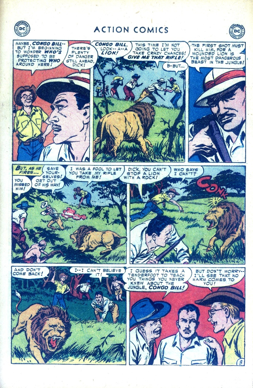 Read online Action Comics (1938) comic -  Issue #189 - 19