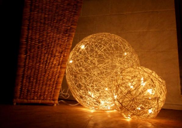 【動手做】簡單的燈飾佈置 讓空間更華麗時尚