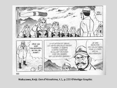 Nakazawa, Keiji. Gen d'Hiroshima, t.1, p.153 © Vertige Graphic.