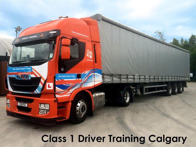 Class 1 Driver Training Calgary