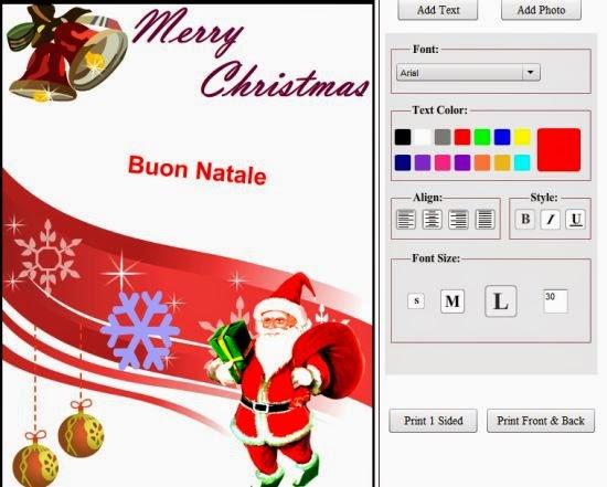 Printable Christmas Cards Cartoline Di Natale Da