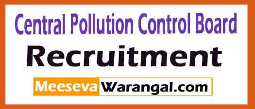 CPCB Recruitment 2018 (Central Pollution Control Board) Jobs Apply