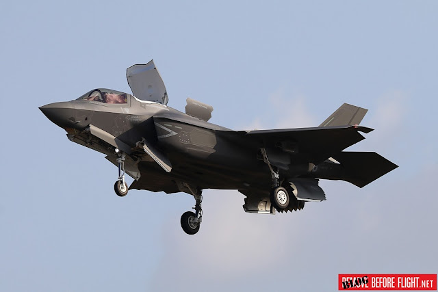 Italian F-35B short take-off landing