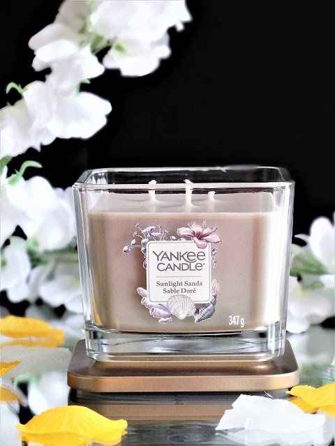 avis sunlight sands yankee candle, bougie sable doré yankee candle, bougie elevation yankee candle, sunlight sands yankee candle review