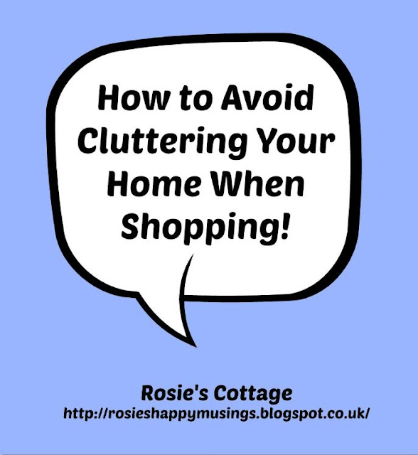 How To Avoid Cluttering Your Home When Shopping