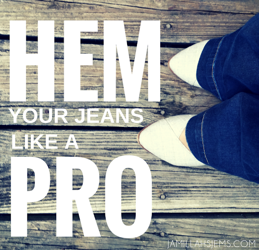 Sewing DIY: How to Hem Your Jeans Like a Pro