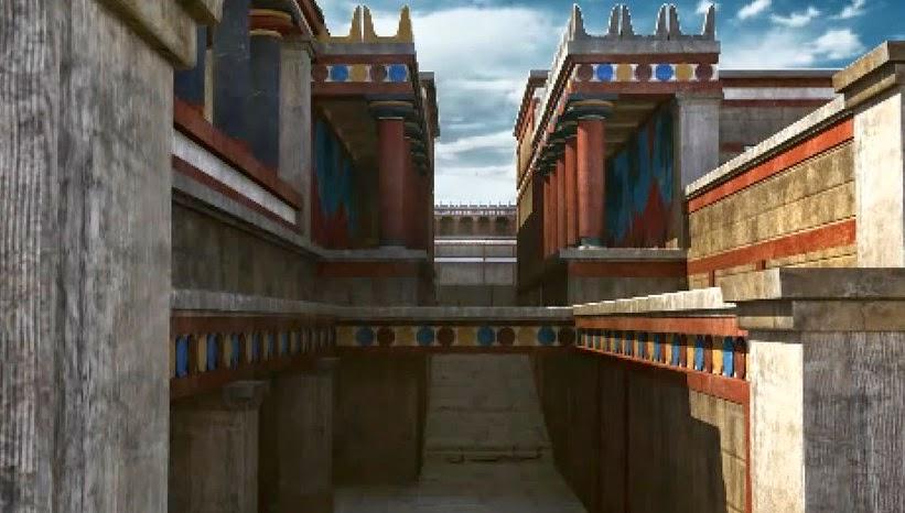 Το Παλάτι της Κνωσού σε 3D (BINTEO)