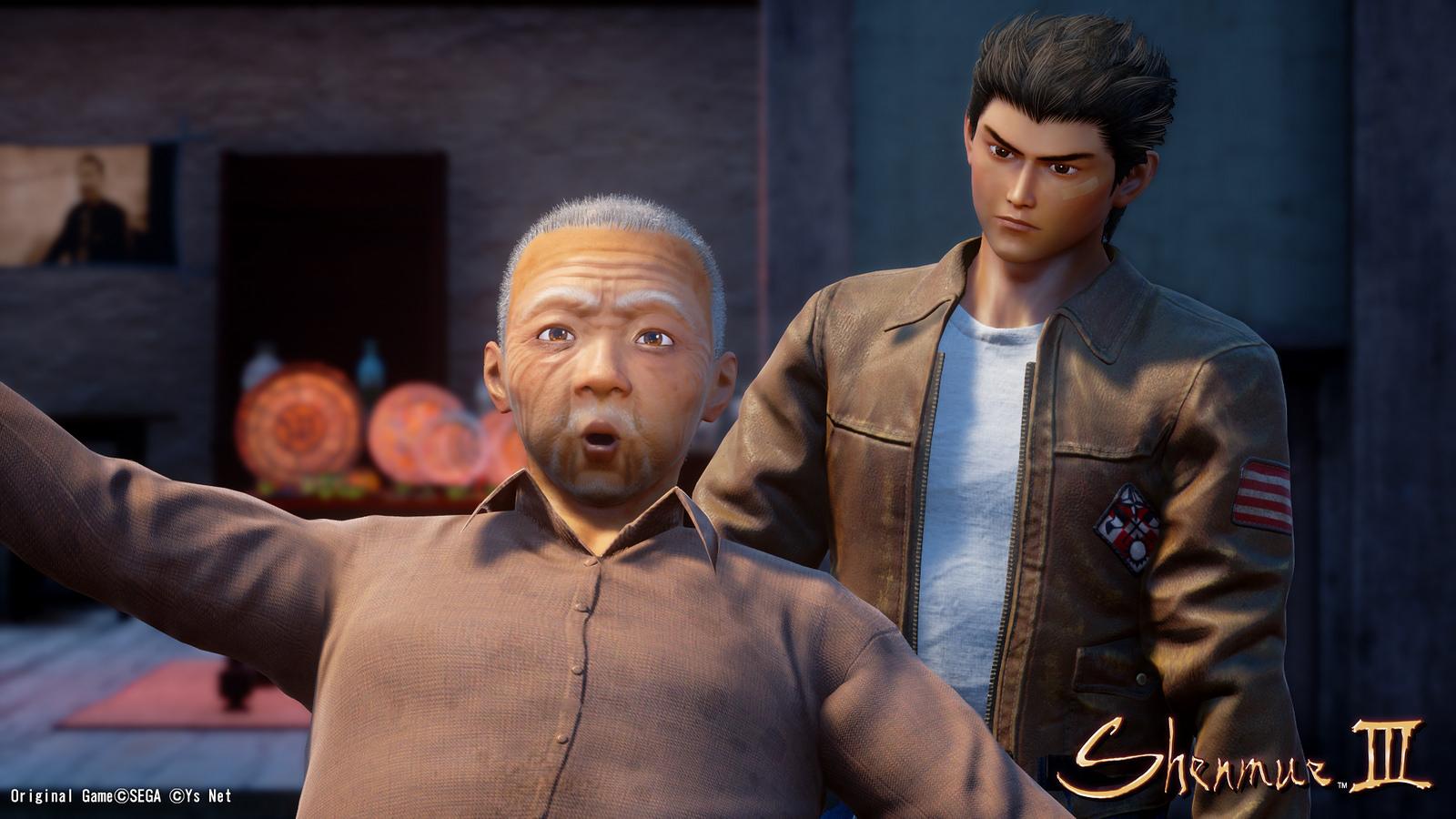 New Shenmue III Character + Promo Screenshots   US