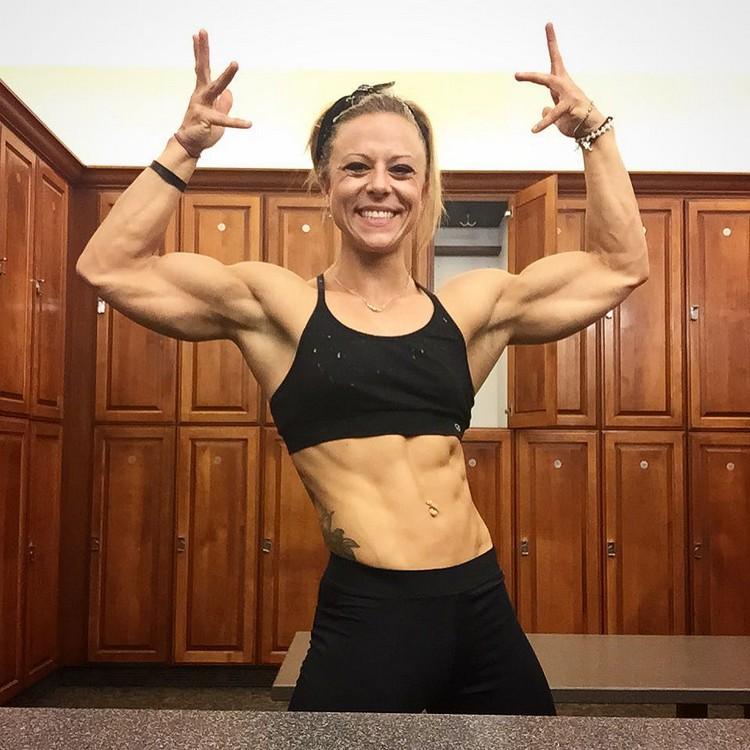 Amino Z Team Womens Weight Lifting Bodybuilding Gym: Dani Reardon IFBB PRO Women's Physique