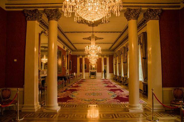 Interior castillo de Dublín
