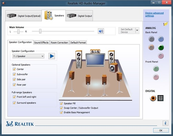 Resultado de imagen para Realtek High Definition Audio Driver 6.0.1.8633