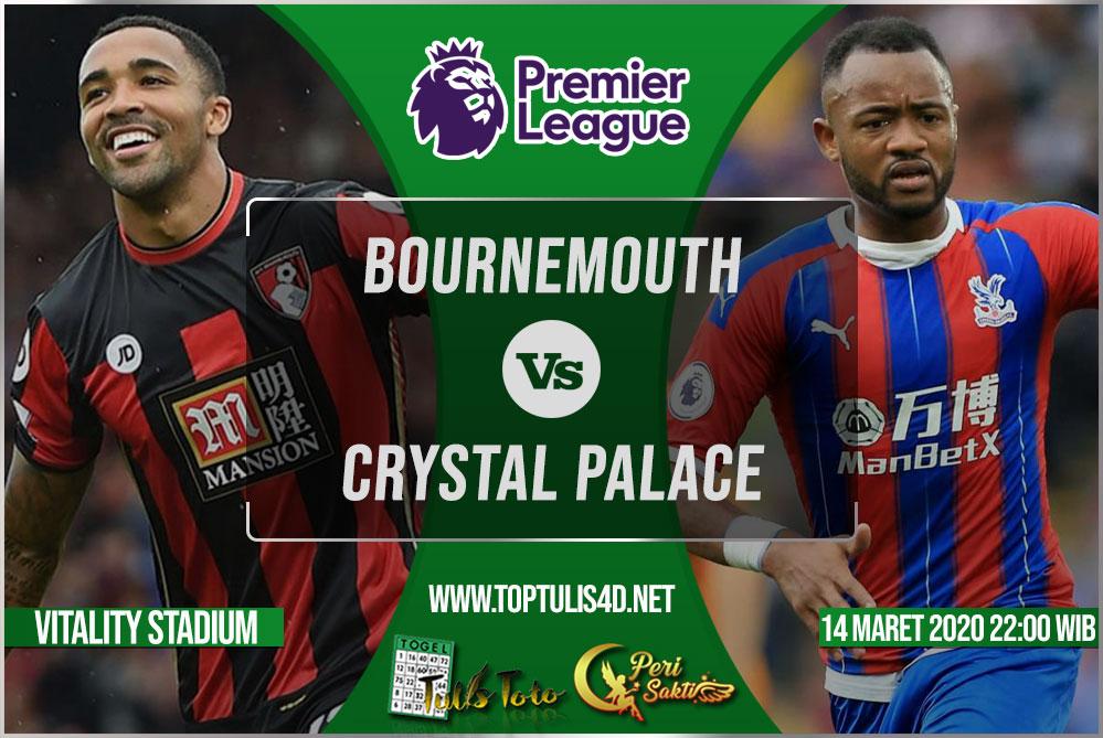 Prediksi Bournemouth vs Crystal Palace 14 Maret 2020
