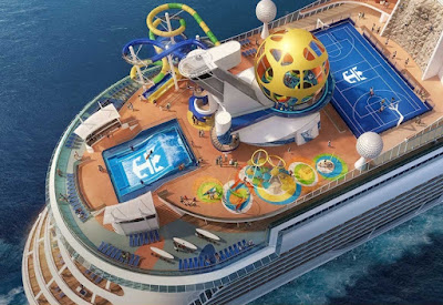 Royal Caribbean's Mariner of the Seas Post Refit Showing off her latest attractions.
